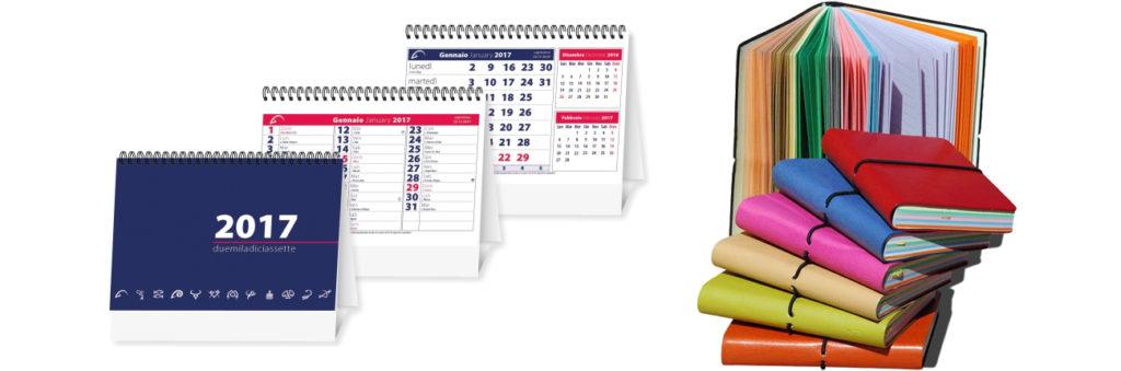 calendari da tavolo e agende