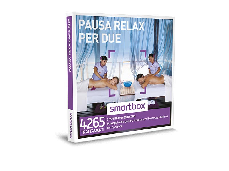 smartbox - pausa relax per due