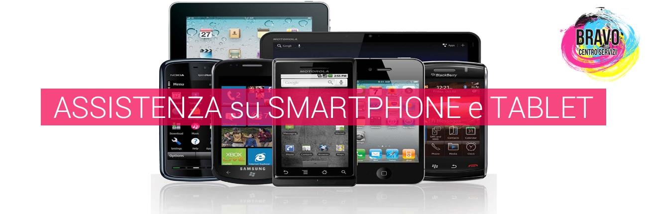 Assistenza su smartphone e tablet