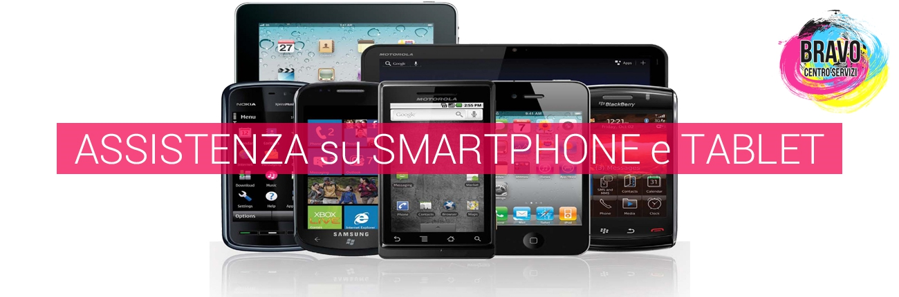 Assistenza su smartphone e tablet