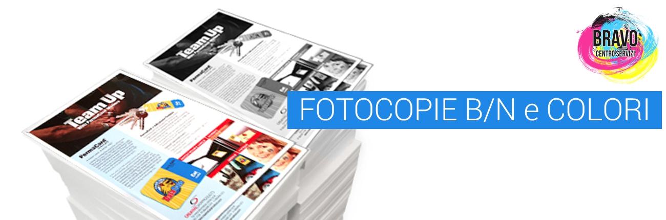 Fotocopie b/c e colori