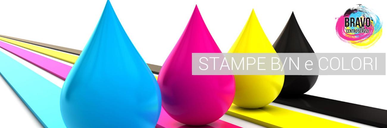 Stampe b/c e colori